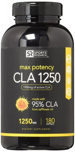 Sports Research Max Potency CLA 1250 Supplement
