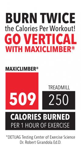 Maxi Climber Calories