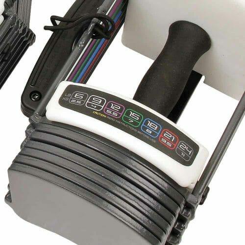 Power Block GF-SPDBLK24 Adjustable SpeedBlock Dumbbells Review Adjust