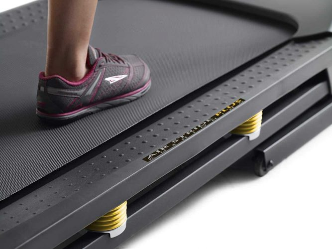 Gold's Gym Trainer 720 Treadmill Display Construction