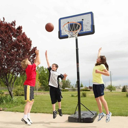 Lifetime Portable Basketball Hoop In Action