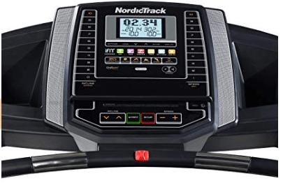 NordicTrack Treadmill Display