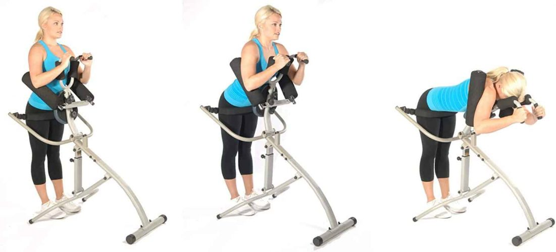 Stamina Inline Spinal Decompression Traction Stretching Machine