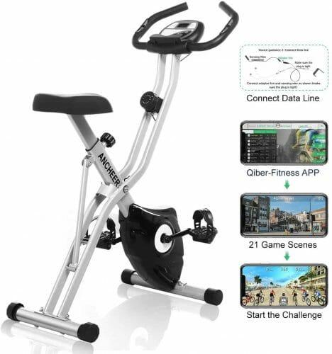 ANCHEER Folding Indoor Exercise Bike