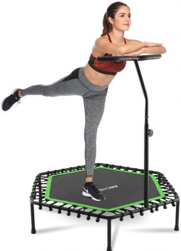 ANCHEER Mini Exercise Trampoline