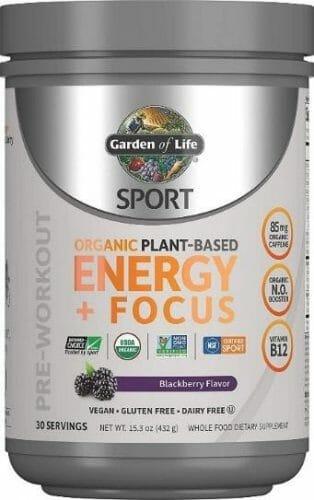 Garden Of Life Sport Organic Vegan Pre-Workout