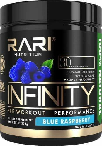 RARI Nutrition Vegan Pre-Workout Powder