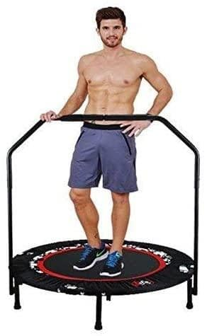 Tomasar Foldable Mini Exercise Trampoline