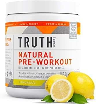 Truth Nutrition All-Natural Vegan Pre-Workout