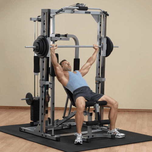Body-Solid Powerline Smith Machine System