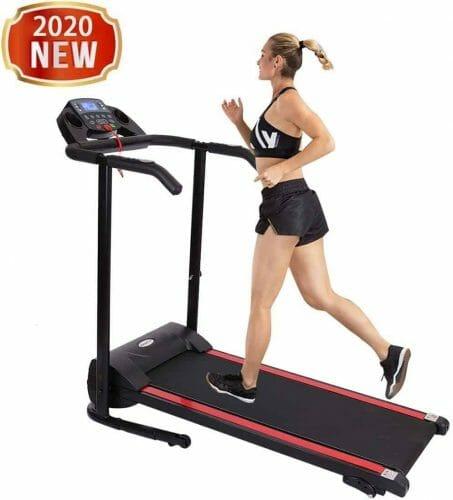 Fasesh 1100W Motorized Electric Folding Treadmill