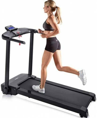 Merax JK1603E 500W Motorized Electric Folding Treadmill