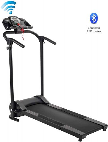 ZELUS 750W Motorized Electric Folding Treadmill