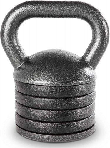 Apex Adjustable Heavy-Duty Exercise Kettlebell