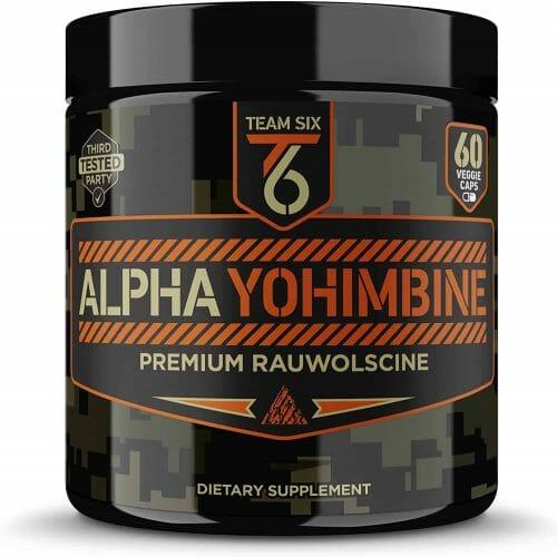 Team Six Supplements Alpha Yohimbine
