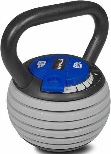 Titan Fitness Adjustable Kettlebell