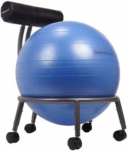 Isokinetics Adjustable Balance Ball Chair