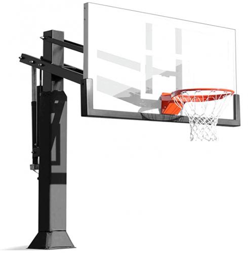 Pro Dunk Gold Driveway Basketball Hoop