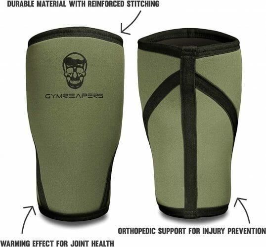 Grim Reaper Knee Sleeves